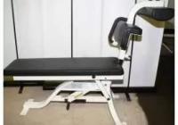 Cybex 5208 Bent Leg Abdominal Board Скамья для пресса регулируемая