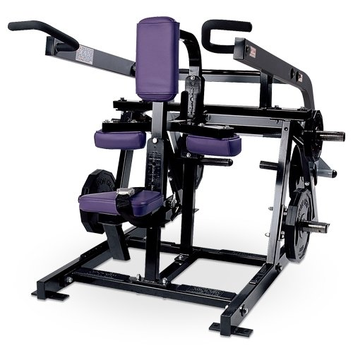 Hammer Strength PLDIP Plate Loaded Seated Dip Отжимание сидя (трицепс)