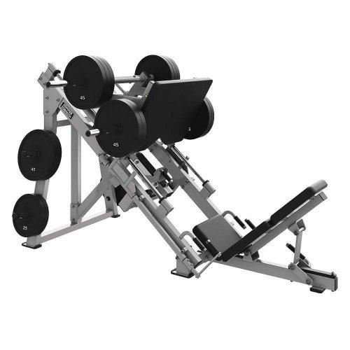 Hammer Strength PLLL2 Plate Loaded Linear Leg Press Жим ногами под углом 45 градусов