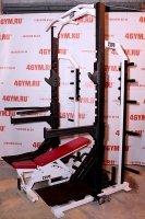 Powerlift HFR-9 Half Rack w/bench Полурама со скамьей