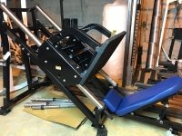 Hammer Strength PLLL2 Plate loaded Linear leg press Жим ногами