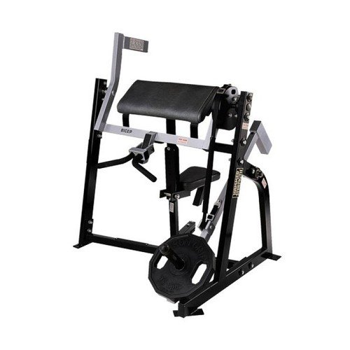 Hammer Strength PLBI Plate loaded bicep seated Бицепс сидя