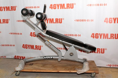 Hoist CF-3264 Adjustable decline ab bench Скамья для пресса с регулируемым наклоном