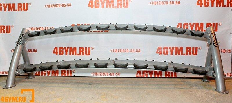 Hoist CF-3461-2 2 Tier dumbbell rack Двухуровневая подставка для гантелей