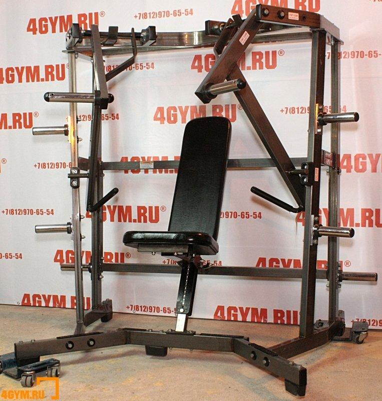 Hammer Strength ILDCP Iso Lateral Decline Press Независимый жим на низ груди